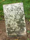 West Branch Cemetery Headstone